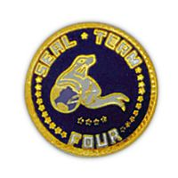 SEAL TEAM 4 HAT PIN - HATNPATCH