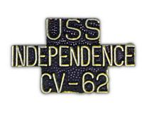 USS INDEPENDENCE HAT PIN - HATNPATCH