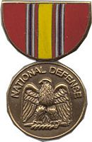 NATIONAL DEFENSE HAT PIN
