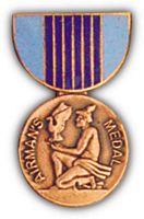 AIRMANS MEDAL HAT PIN - HATNPATCH