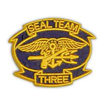 SEAL TEAM 3 HAT PIN - HATNPATCH