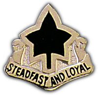 4TH DIV HAT PIN - HATNPATCH
