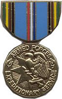 ARMED FORCES EXPEDITIONARY SER HAT PIN