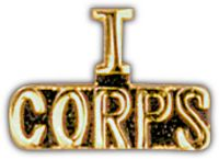 I CORPS HAT PIN - HATNPATCH