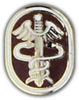 USA HEALTH SERVICES COMMAND HAT PIN