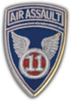 11TH AIR ASSAULT HAT PIN