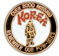 KOREA-8000 MISSING HAT PIN