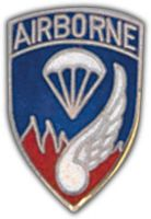 187TH AIRBORNE HAT PIN