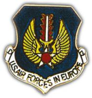 USAF IN EUROPE HAT PIN - HATNPATCH