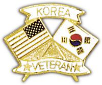 KOREA VETERAN HAT PIN
