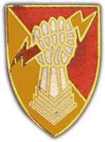38TH ARTILLERY HAT PIN