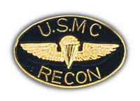 USMC RECON HAT PIN