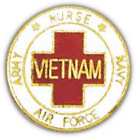 VIETNAM NURSES HAT PIN - HATNPATCH