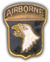 101ST AIRBORNE DIV HAT PIN