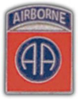 82ND AIRBORNE DIV HAT PIN - HATNPATCH