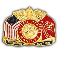 THESE COLORS DON'T RUN HAT PIN - HATNPATCH