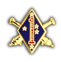 1ST MAR DIV HAT PIN - HATNPATCH