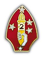 2ND MARDIV HAT PIN - HATNPATCH