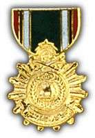 LIBERATION OF KUWAIT MEDAL HAT PIN