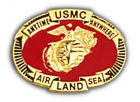 USMC AIR, LAND, SEA - HATNPATCH