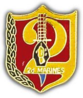 2ND MARINES HAT PIN