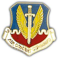 AIR COMBAT CMD HAT PIN