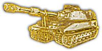 SELF PROPELLED HOWITZER HAT PIN - HATNPATCH