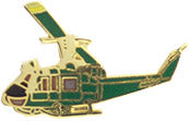 UH1 HUEY HAT PIN - HATNPATCH