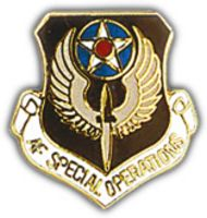 A.F. SPEC OPERATIONS HAT PIN
