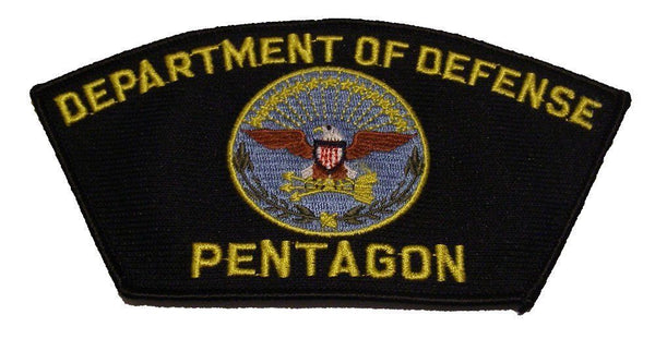 DEPARTMENT OF DEFENSE PENTAGON DOD PATCH RYAN GOSLING SNL SATURDAY NIGHT LIVE