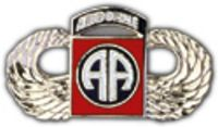 82ND AIRBORNE HAT PIN