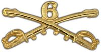 6TH CAVALRY HAT PIN - HATNPATCH