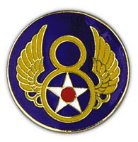 8TH AIR FORCE HAT PIN