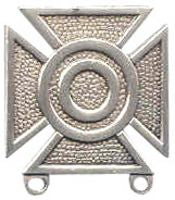 US Army Sharpshooter Qualification Badge - ANTIQUE SILVER - HATNPATCH
