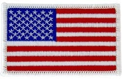 AMERICAN FLAG PATCH RIGHT FACING PATCH - HATNPATCH