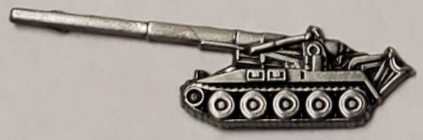M107 175mm Self-Propelled Howitzer Hat or Lapel Pin - HATNPATCH