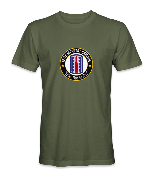197th Infantry Brigade 'Bite The Bullet' T-Shirt - HATNPATCH