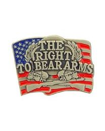 Right To Bear Arms Pin