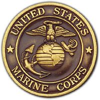 USMC BRONZE COIN - HATNPATCH
