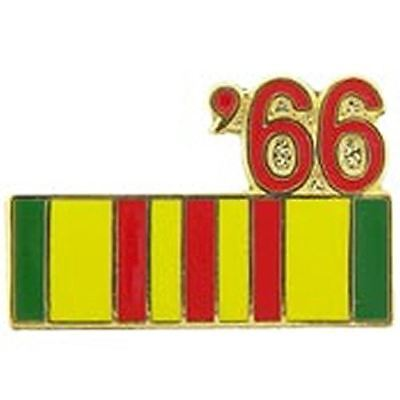1966 VIETNAM SERVICE RIBBON LAPEL OR HAT PIN