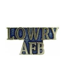 Lowery AFB Pin