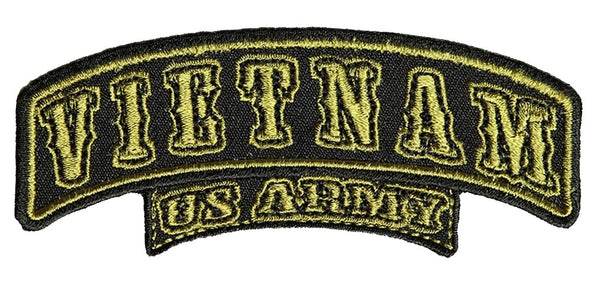SMALL VIETNAM U.S. ARMY Top Rocker - HATNPATCH