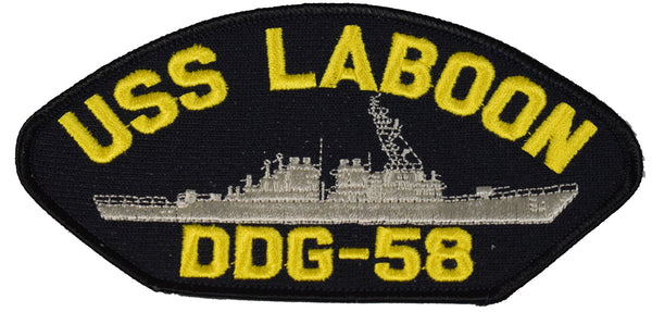 USS LABOON DDG-58 SHIP PATCH - GREAT COLOR - Veteran Owned Business
