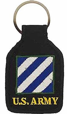 US ARMY 3RD THIRD INFANTRY DIVISION 3 ID KEY CHAIN ROCK OF THE MARNE