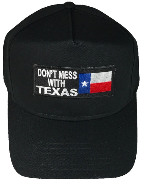 DON'T MESS WITH TEXAS W/ TEXAN FLAG HAT