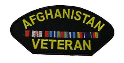 AFGHANISTAN VETERAN W/ CAMPAIGN RIBBONS PATCH OEF OPERATION ENDURING FREEDOM