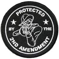 PROTECTED BY THE 2ND AMENDMENT ROUND PATCH