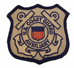 USCG COAST GUARD AUXILIARY PATCH RESERVE FORCE MARITIME SECURITY SEMPER PARATUS