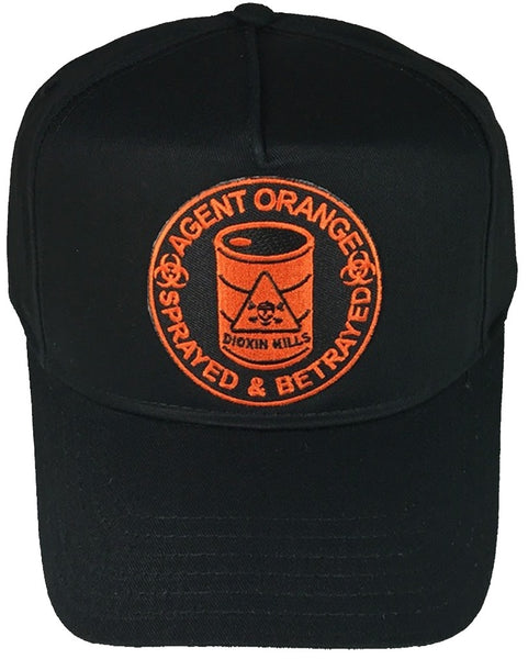 AGENT ORANGE SPRAYED AND BETRAYED DIOXIN KILLS HAT