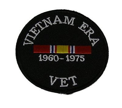 VIETNAM ERA VET WITH NATIONAL DEFENSE RIBBON PATCH COMBAT SERVICE SUPPORT